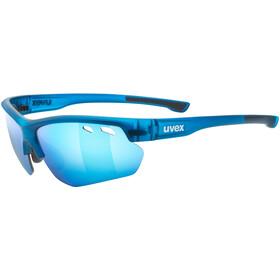 UVEX Sportstyle 115 Lunettes de sport, blue mat/blue